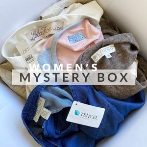 women's mystery box • 4 items for $12